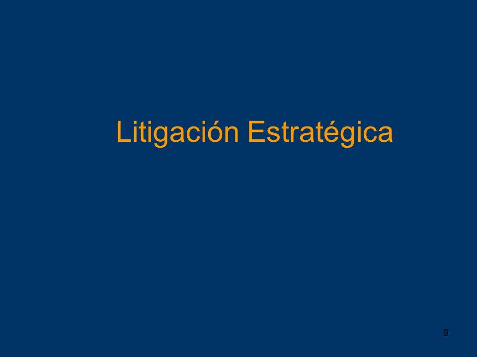 Litigación Estratégica