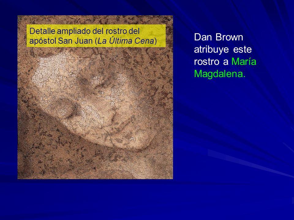 Dan Brown atribuye este rostro a María Magdalena.