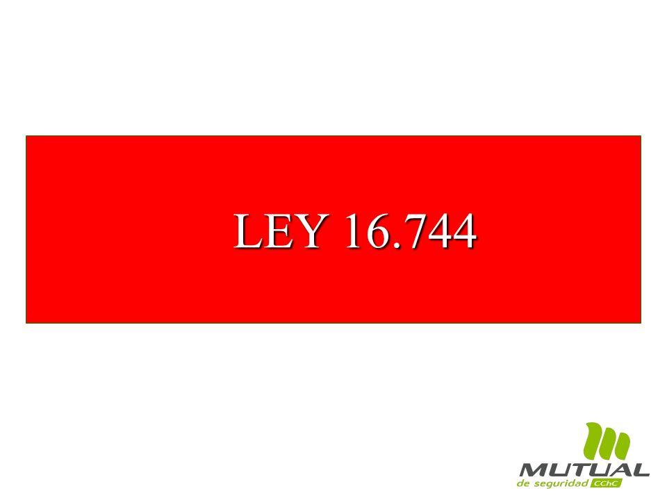 LEY 16.744