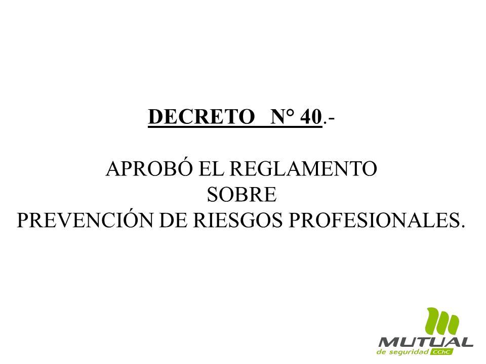 PREVENCIÓN DE RIESGOS PROFESIONALES.