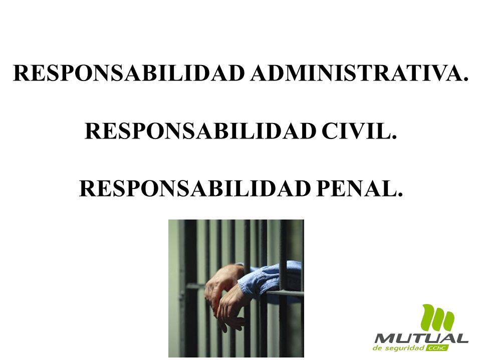 RESPONSABILIDAD ADMINISTRATIVA. RESPONSABILIDAD CIVIL.