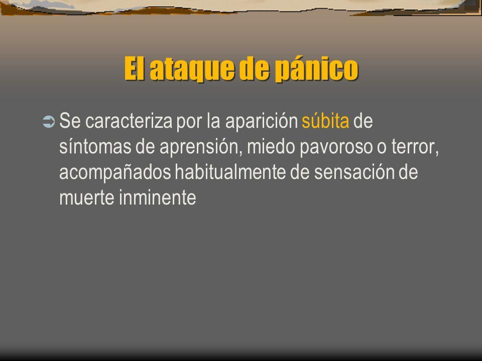 El ataque de pánico