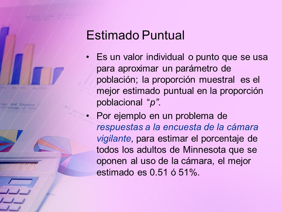 Estimado Puntual