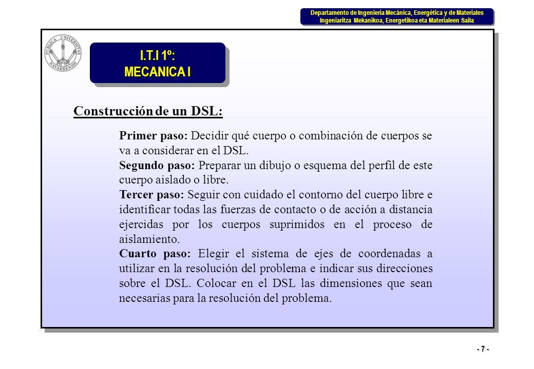Construcción de un DSL: