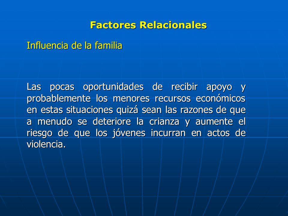 Factores Relacionales