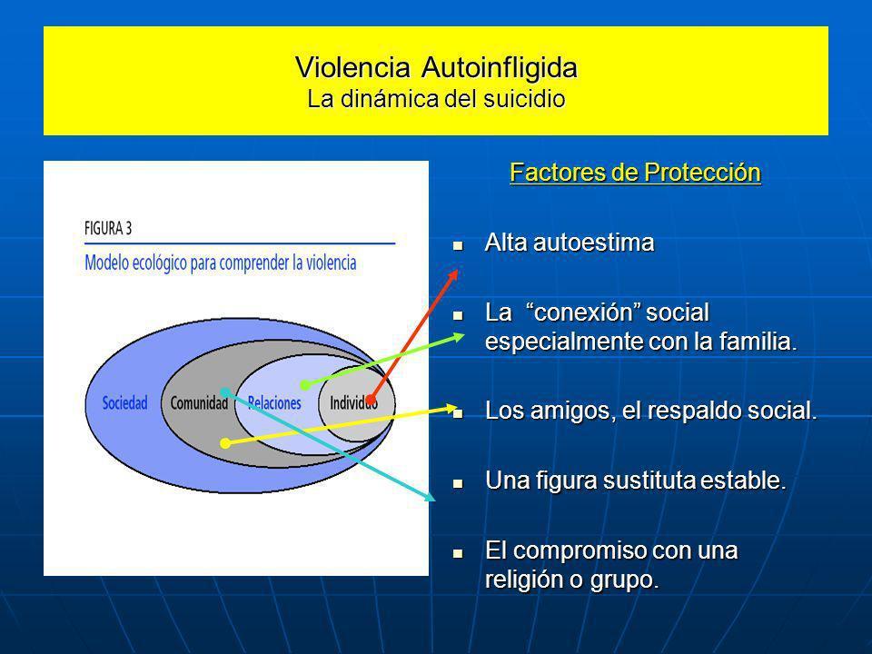 Violencia Autoinfligida La dinámica del suicidio