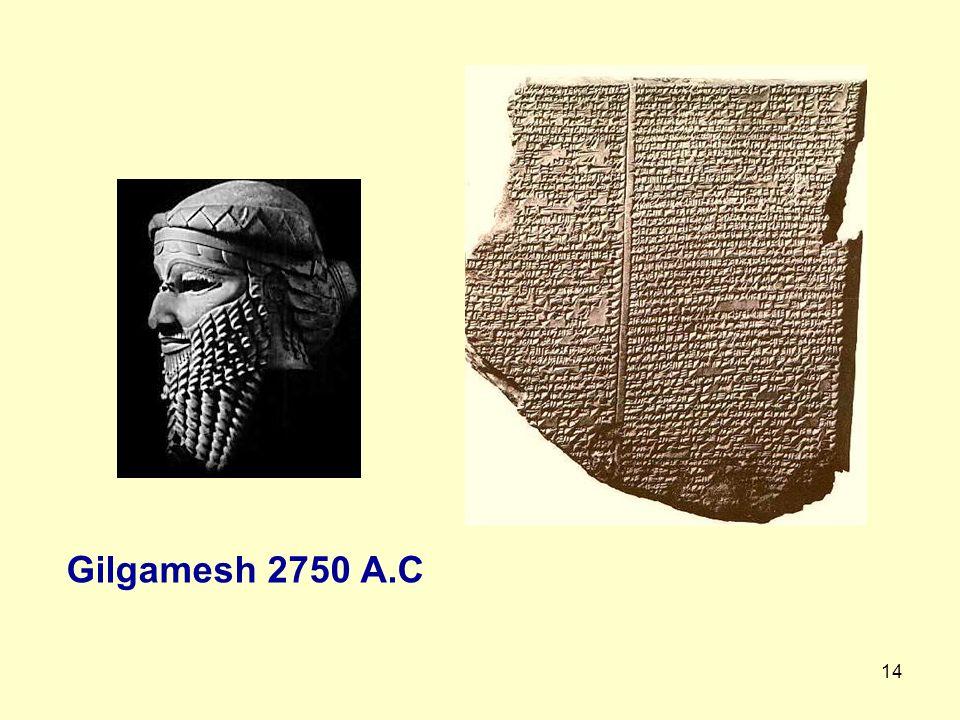 Gilgamesh 2750 A.C