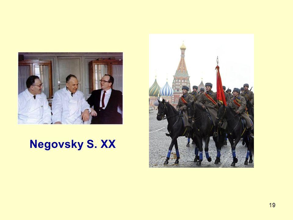 Negovsky S. XX