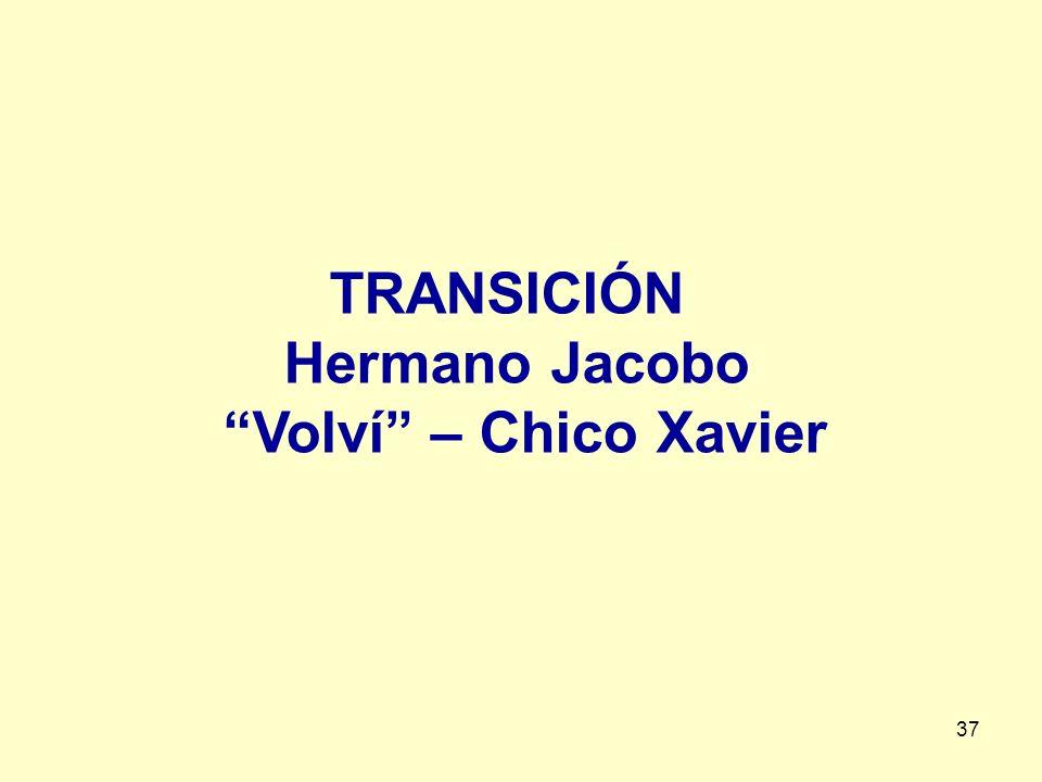 TRANSICIÓN Hermano Jacobo Volví – Chico Xavier