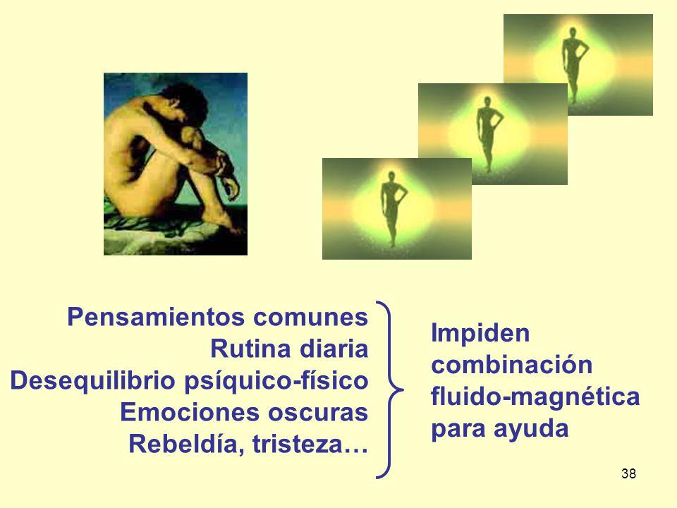 Pensamientos comunes Rutina diaria. Desequilibrio psíquico-físico. Emociones oscuras. Rebeldía, tristeza…