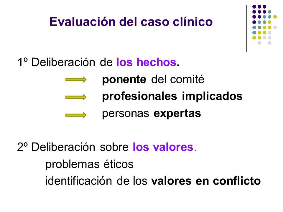Evaluación del caso clínico