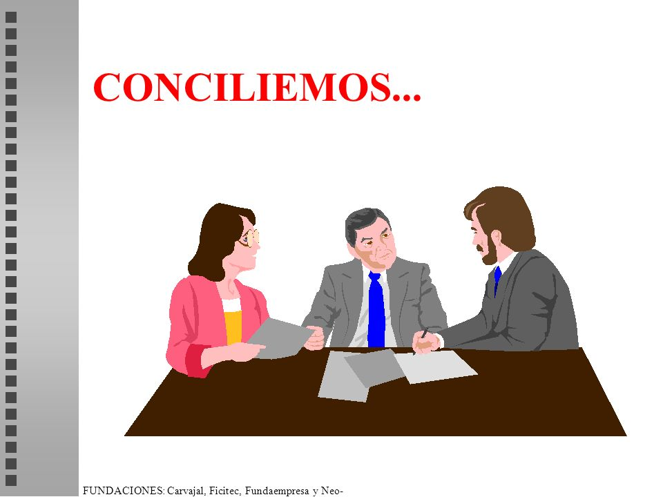 CONCILIEMOS... ACTIVIDAD DE APRENDIZAJE