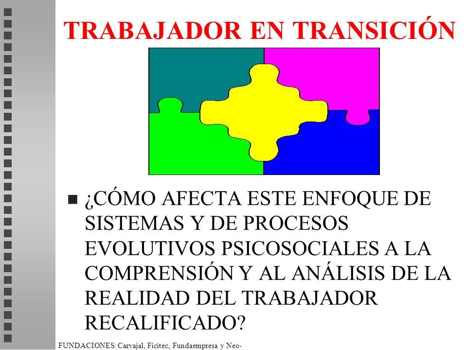 TRABAJADOR EN TRANSICIÓN