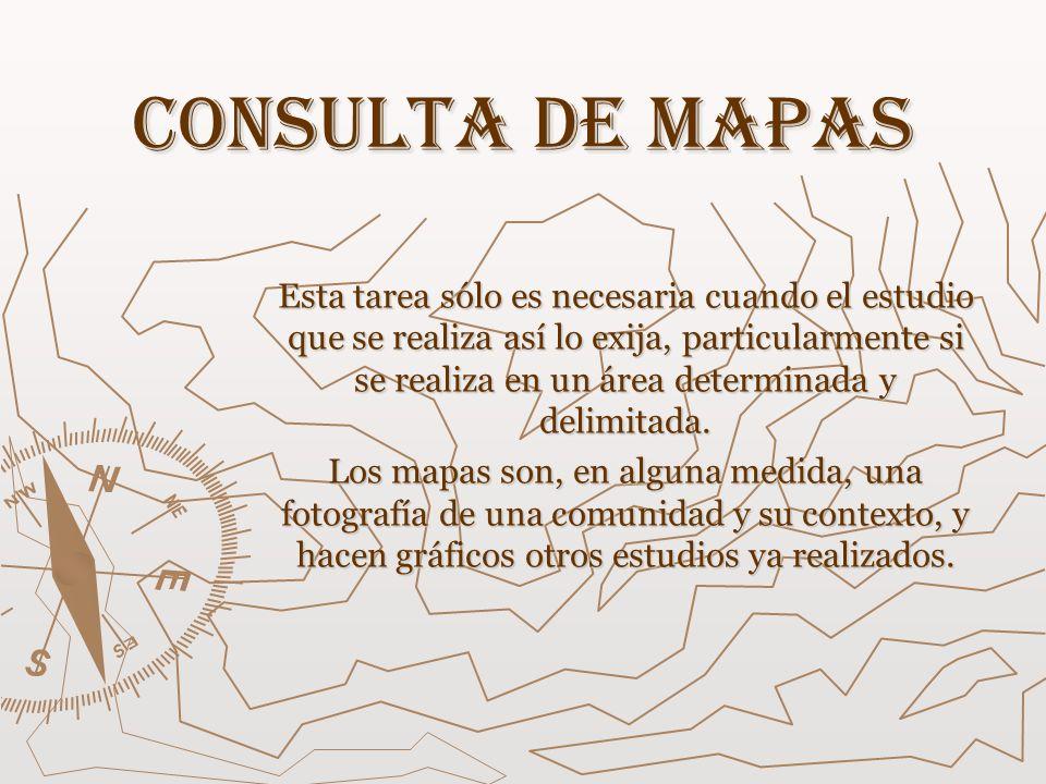 Consulta de mapas