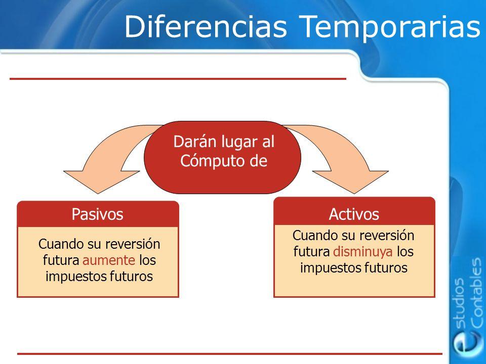 Diferencias Temporarias