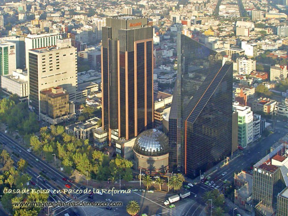 Casa de Bolsa en Paseo de la Reforma