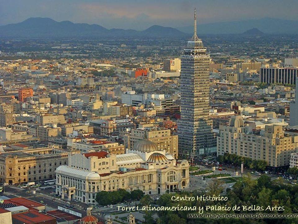 Torre Latinoamericana y Palacio de Bellas Artes