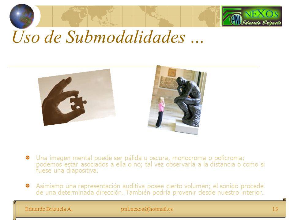Uso de Submodalidades …