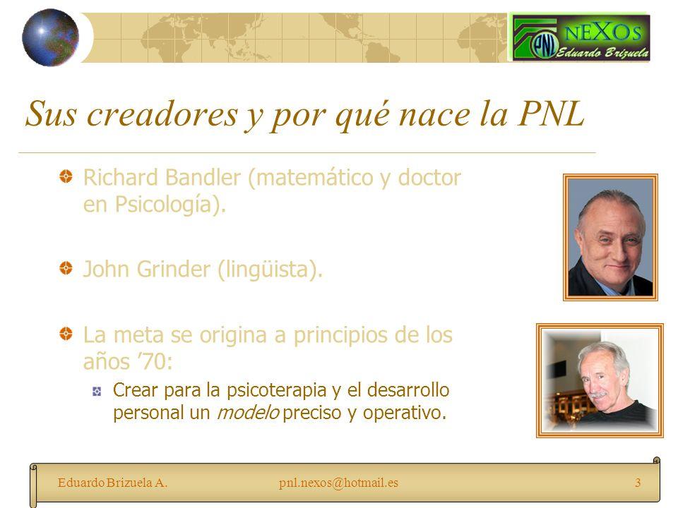 Sus creadores y por qué nace la PNL