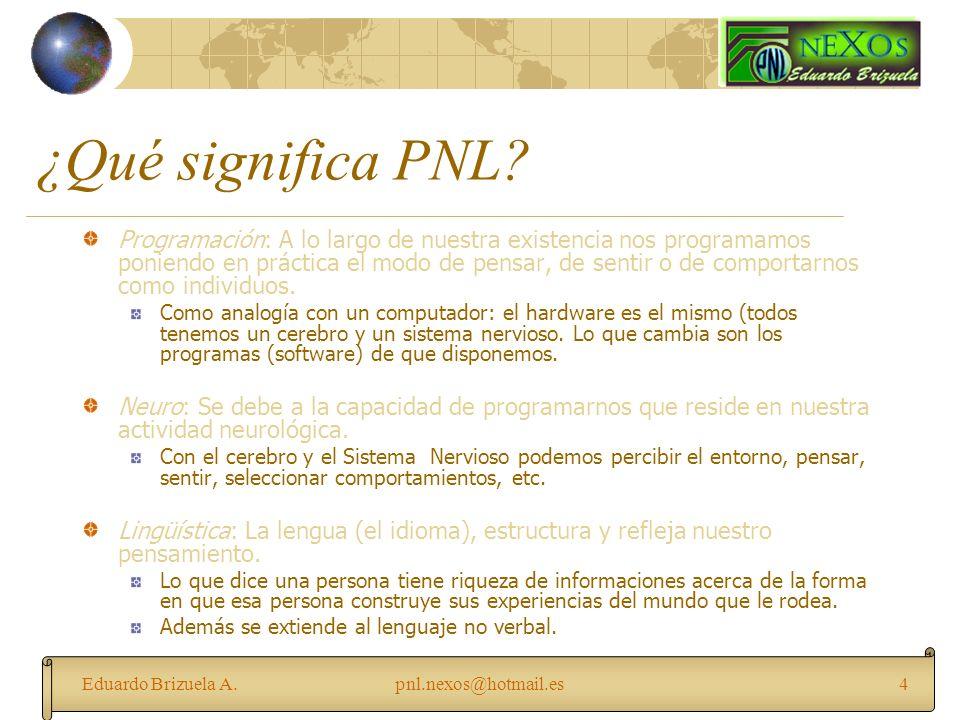 ¿Qué significa PNL