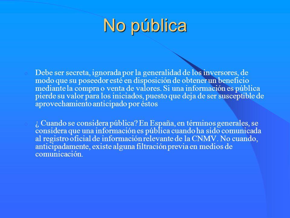 No pública