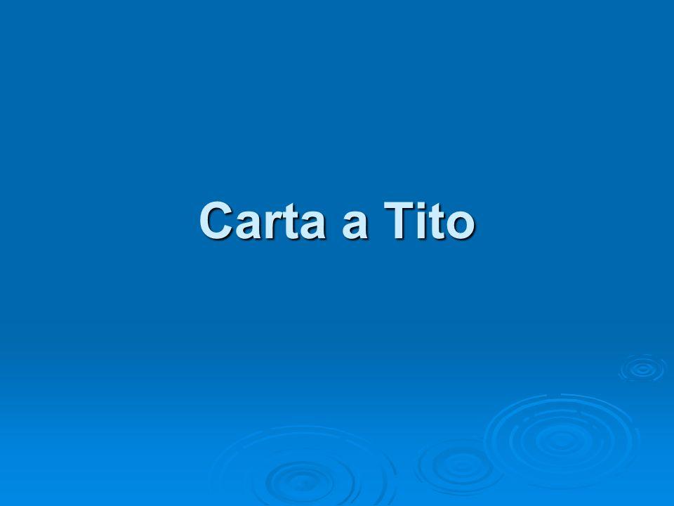 Carta a Tito