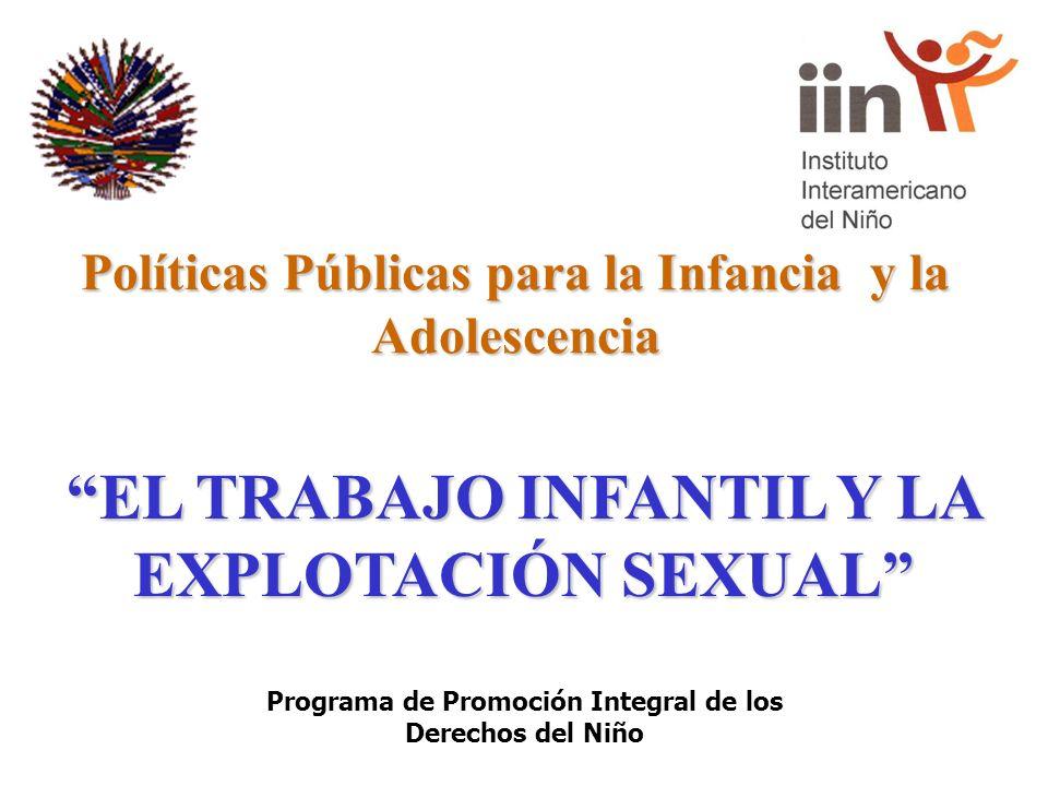 Políticas Públicas para la Infancia y la Adolescencia