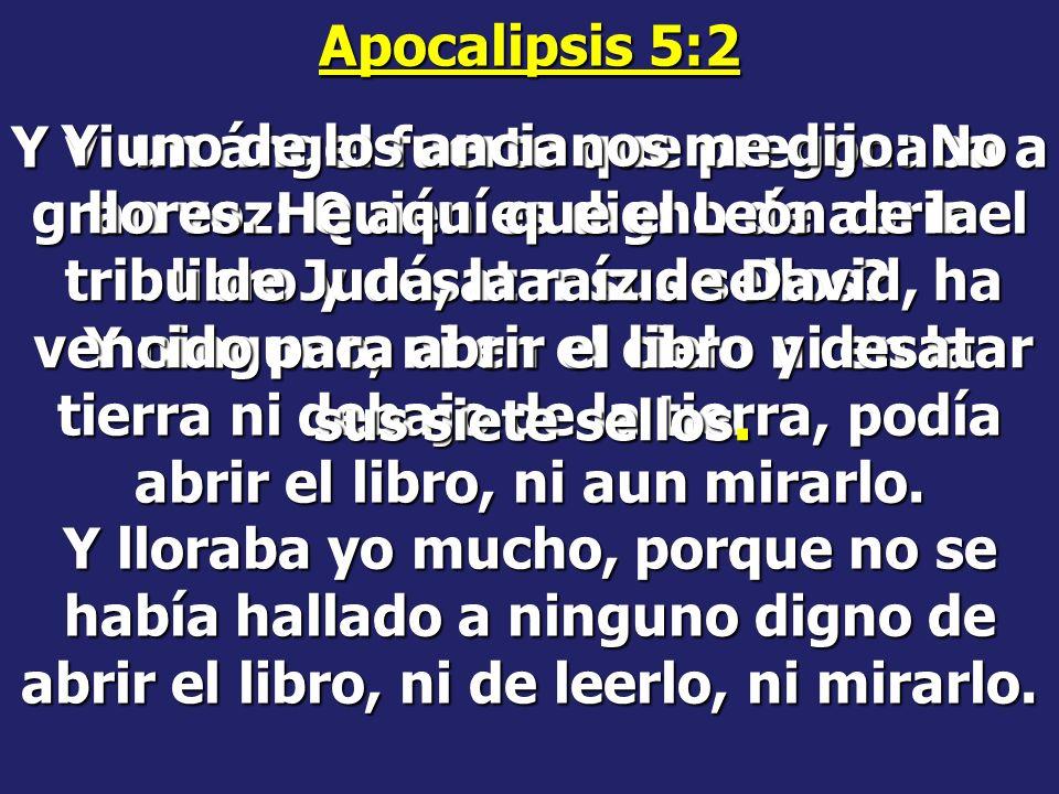 Apocalipsis 5:2