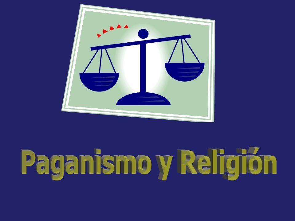 Paganismo y Religión