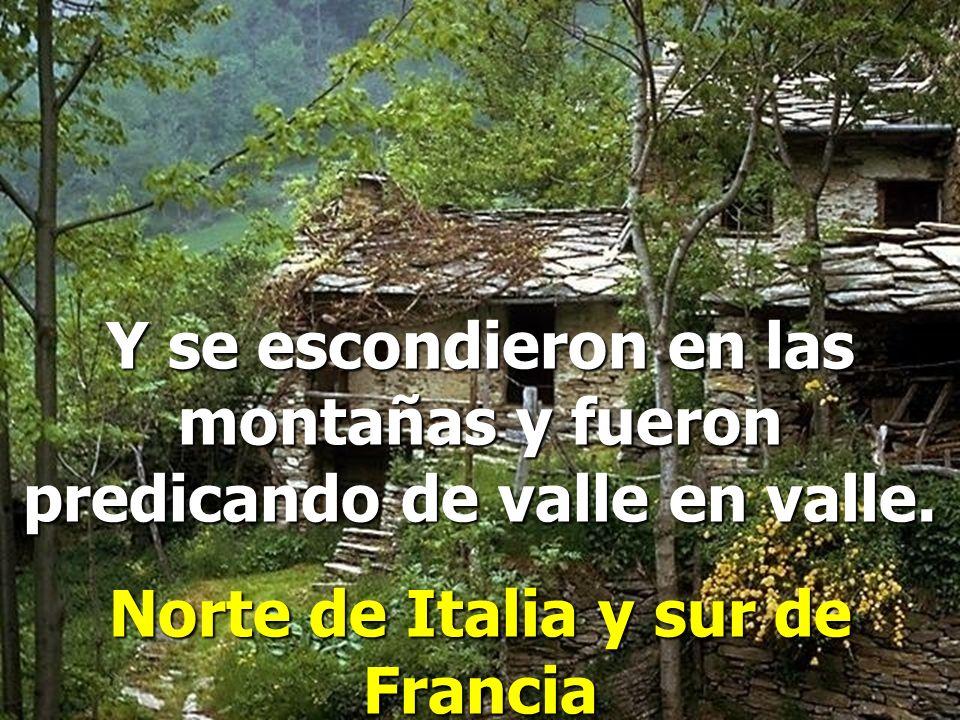 Norte de Italia y sur de Francia