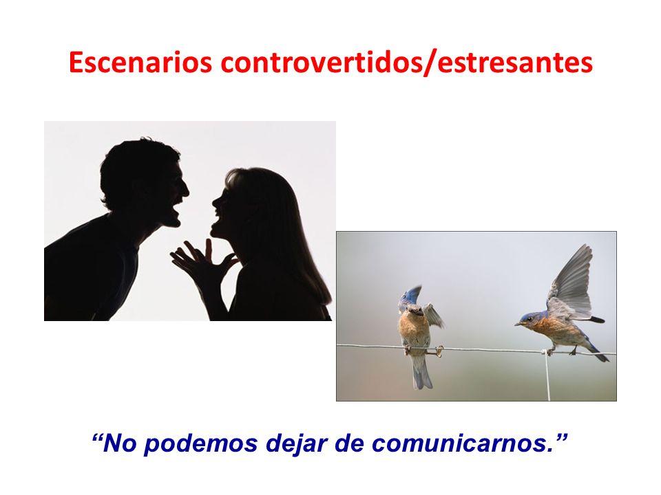 Escenarios controvertidos/estresantes