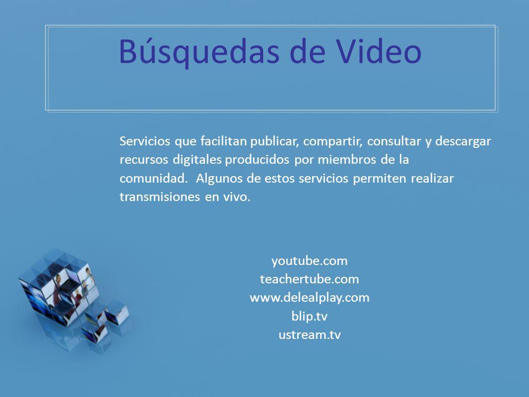 Búsquedas de Video