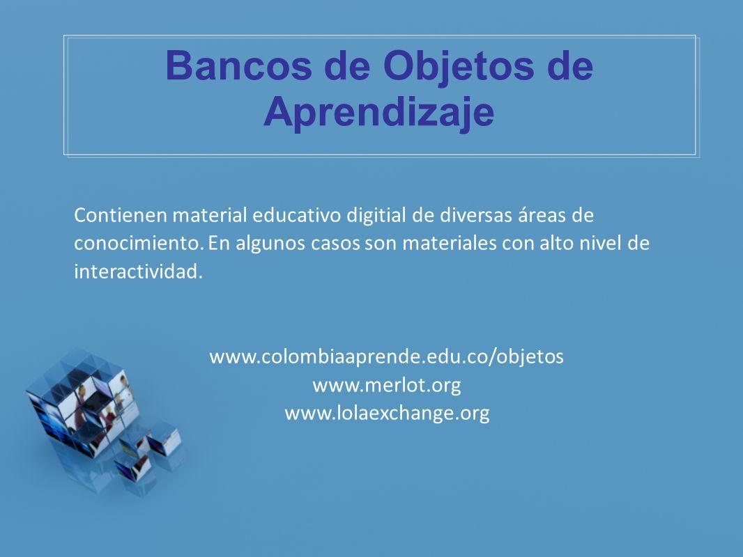 Bancos de Objetos de Aprendizaje