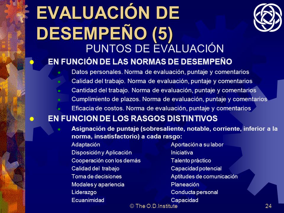 EVALUACIÓN DE DESEMPEÑO (5)