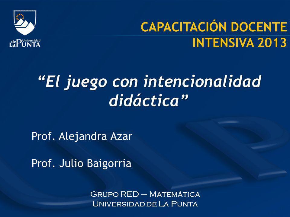 Grupo RED – Matemática Universidad de La Punta