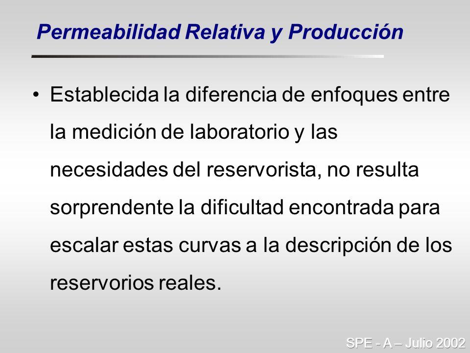 Permeabilidad Relativa y Producción