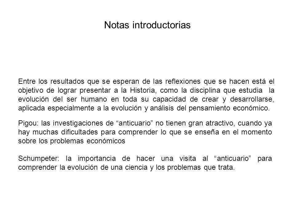 Notas introductorias