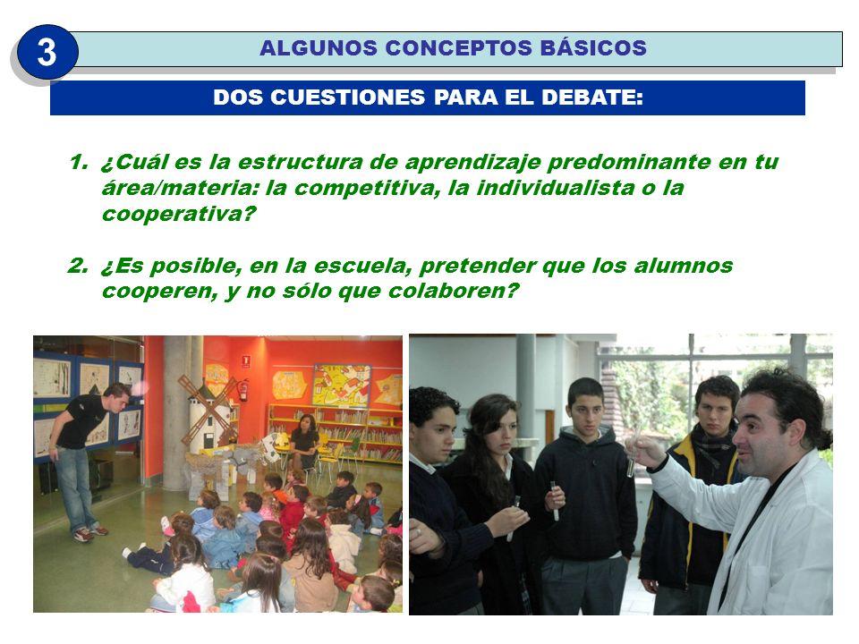 DOS CUESTIONES PARA EL DEBATE: