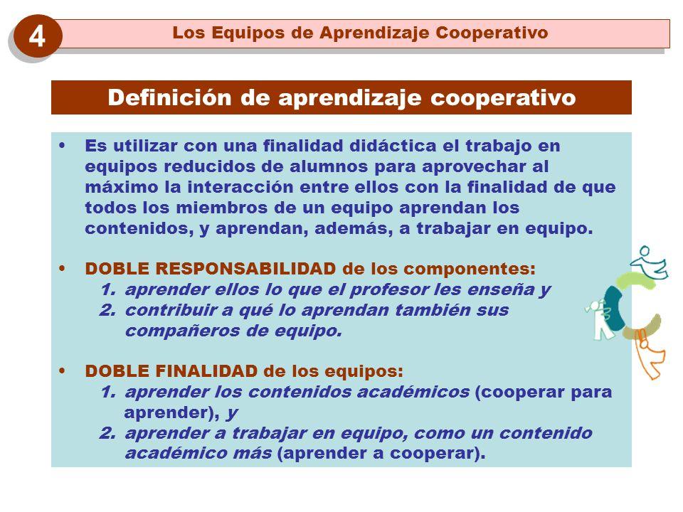 4 Definición de aprendizaje cooperativo