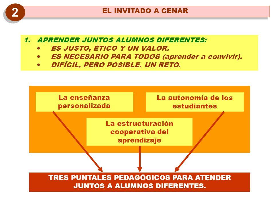 2 EL INVITADO A CENAR APRENDER JUNTOS ALUMNOS DIFERENTES: