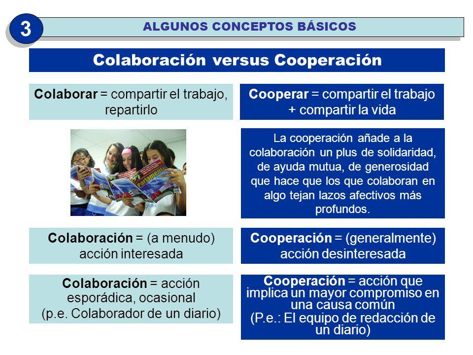3 Colaboración versus Cooperación