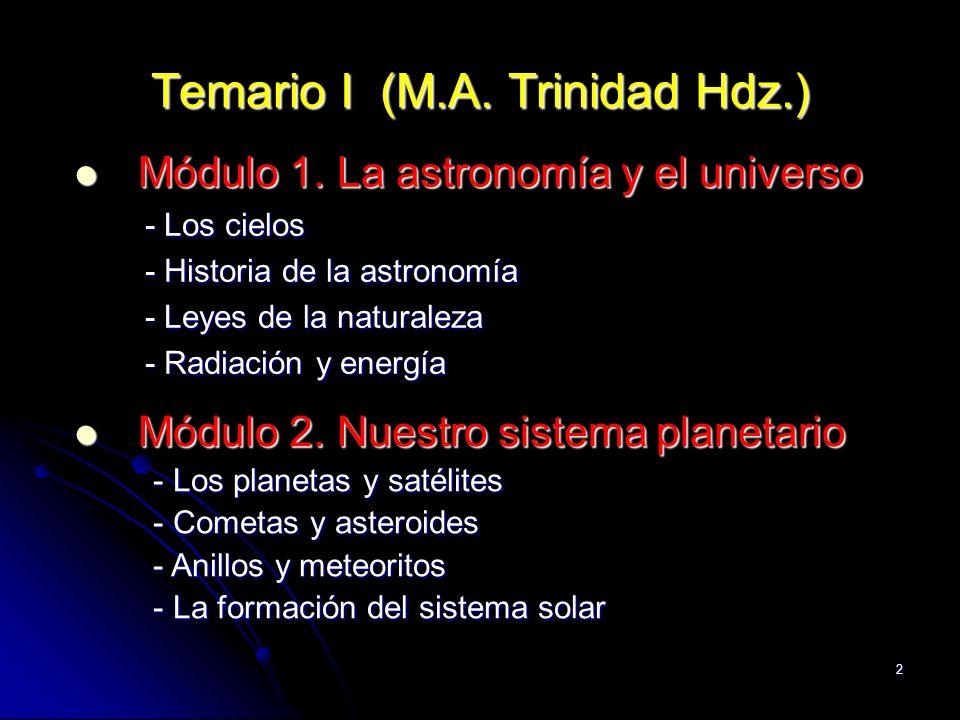 Temario I (M.A. Trinidad Hdz.)