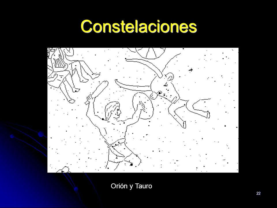 Constelaciones Orión y Tauro