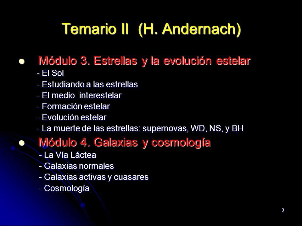 Temario II (H. Andernach)
