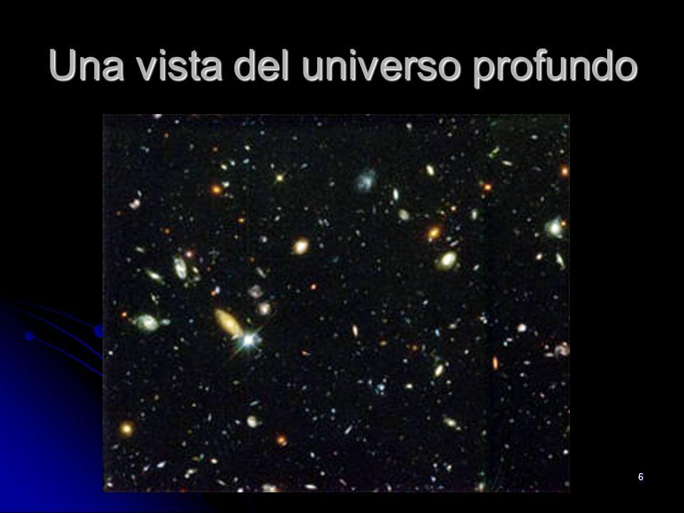 Una vista del universo profundo