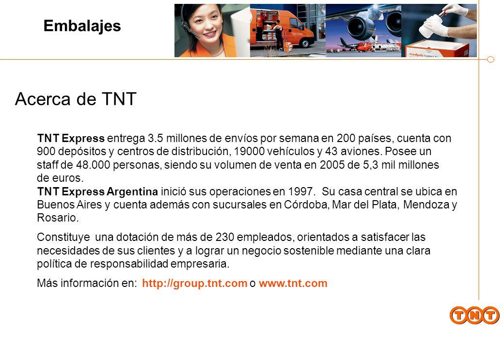 Acerca de TNT Embalajes