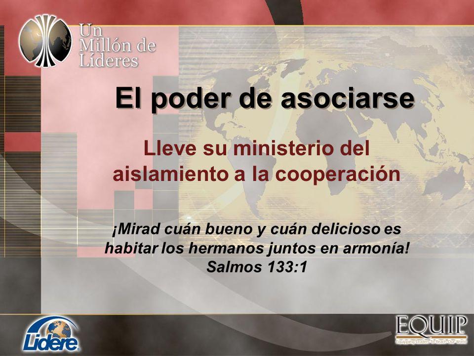 Lleve su ministerio del aislamiento a la cooperación