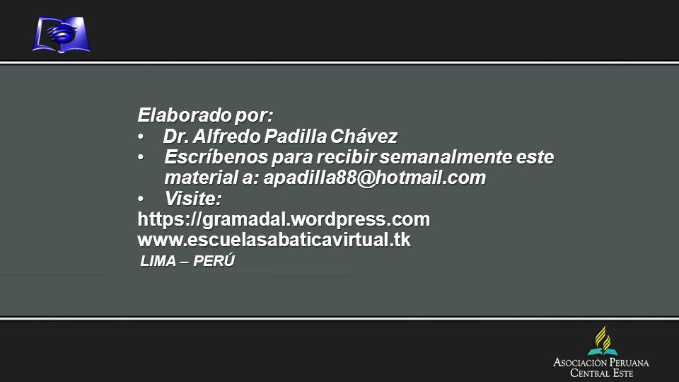 Dr. Alfredo Padilla Chávez