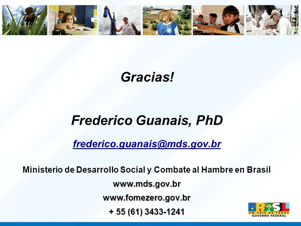 Ministerio de Desarrollo Social y Combate al Hambre en Brasil