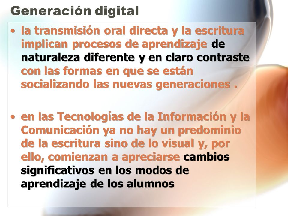 Generación digital